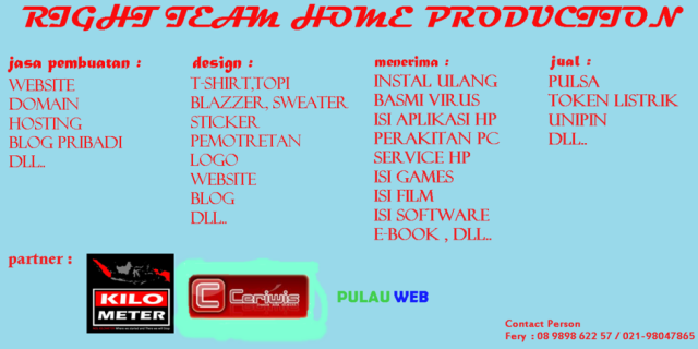 RIGHT TEAM HOME PRODUCTION